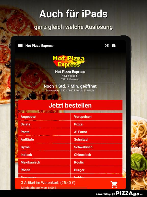 Hot Pizza Express Wannweil screenshot 7