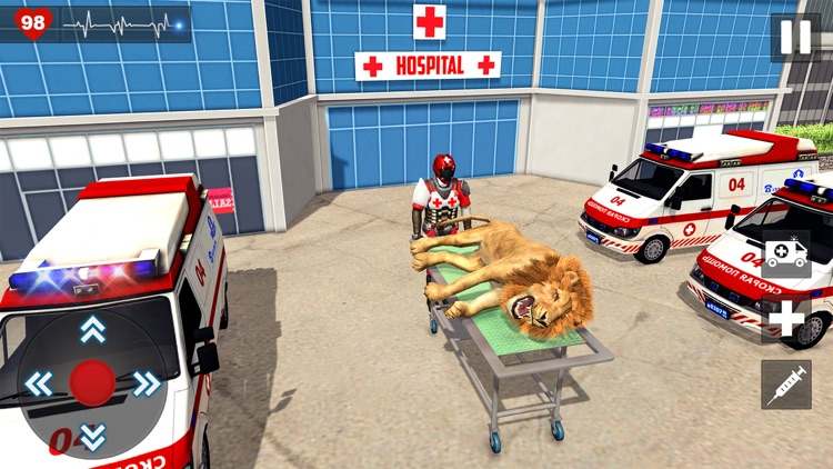 Animal Rescue Doctor Games 3D screenshot-4