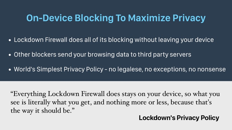 Lockdown Privacy screenshot-6