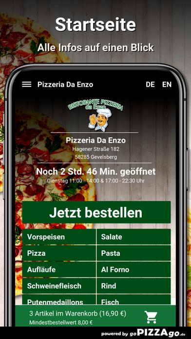 Pizzeria Da Enzo Gevelsberg screenshot 2