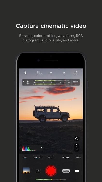 Pro Camera by Moment screenshot-7