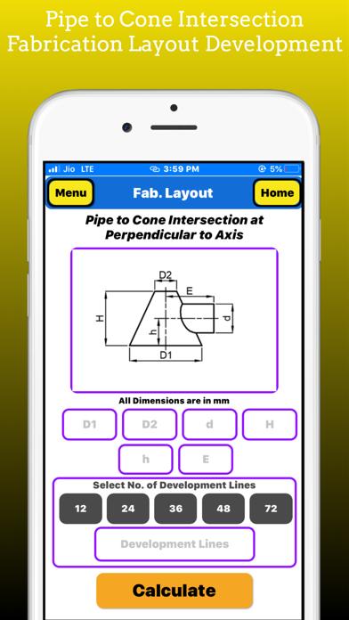 Fabrication Layout screenshot 2