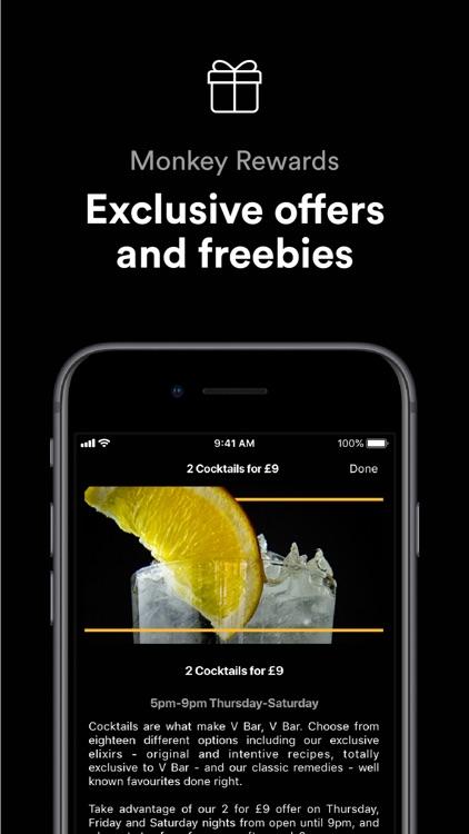 Monkey -  Food and drink deals screenshot-3