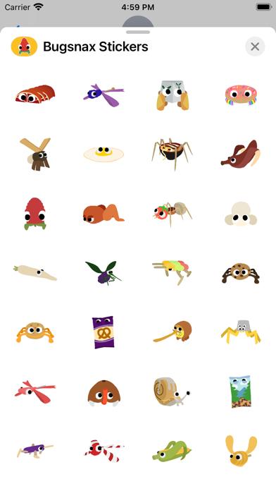 Bugsnax Stickers screenshot 3