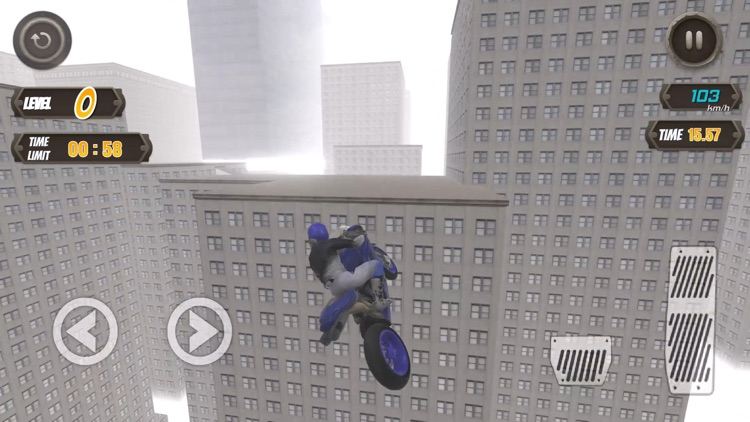 Rooftop Biker screenshot-3