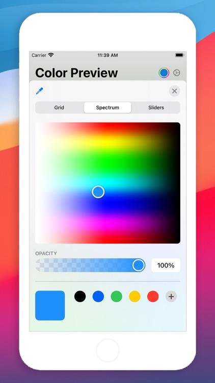 Color Preview - No Ads screenshot-4