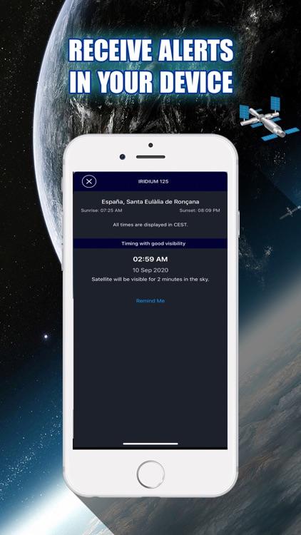 Satellite Tracker in AR screenshot-3