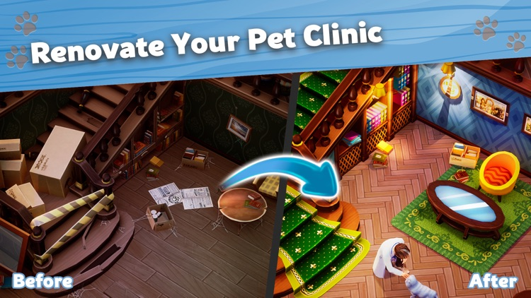Pet Clinic: Match 3 & Design