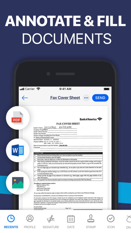 Fill PDF Editor, Signature app screenshot-3