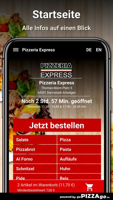 Express Darmstadt Arheilgen screenshot 2
