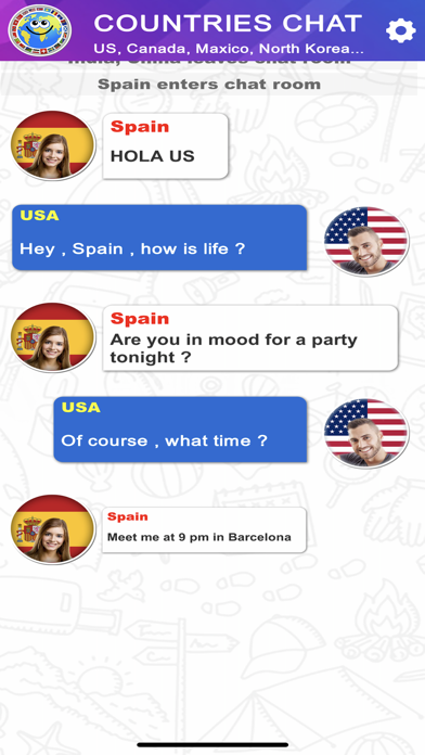 Countries Chat screenshot 5