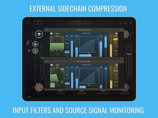 BLEASS Compressor AUv3 Pluginのおすすめ画像1