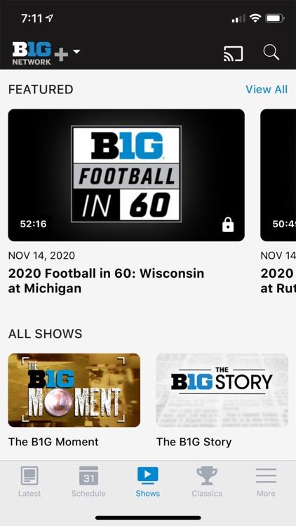 Big Ten Network+ screenshot-4