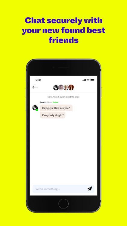 Circles: Make new friends screenshot-4