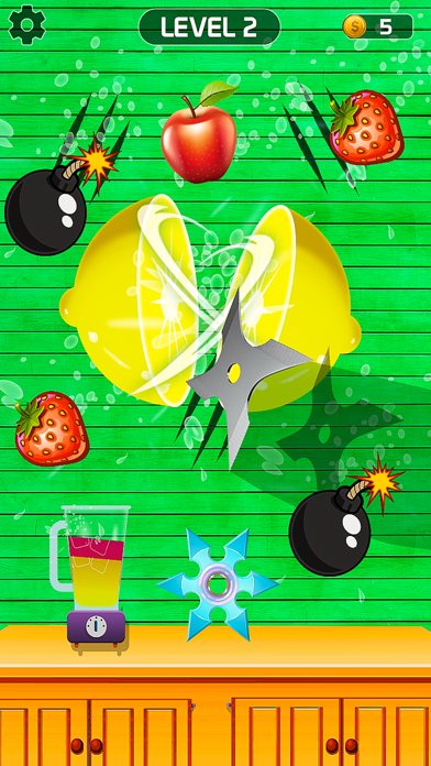 Fruits Slice Juice Cutter screenshot 1