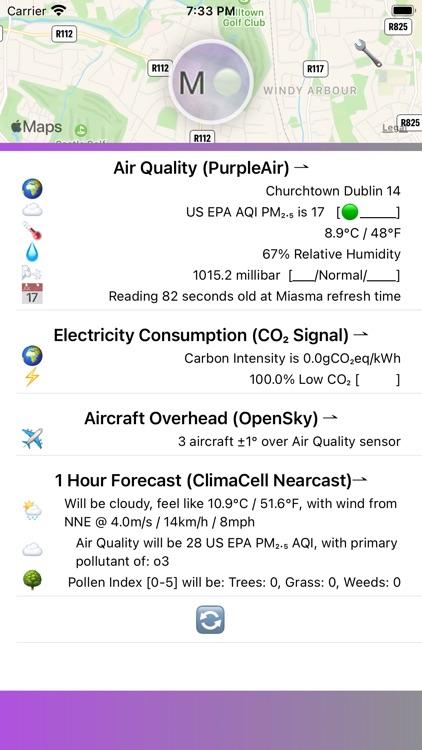 Miasma - Air Quality Stats