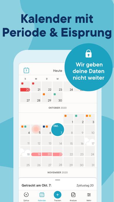 messages.download Clue Perioden Kalender software