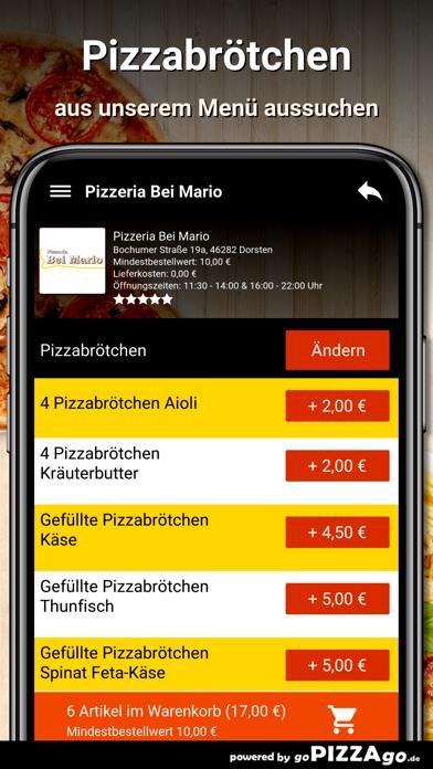 Pizzeria Bei Mario Dorsten screenshot 6
