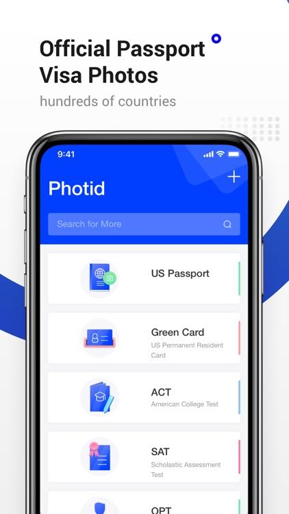 Passport Photo-ID Photo Editor screenshot-0