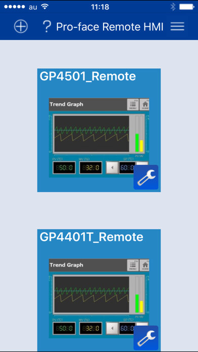 Pro-face Remote HMI ScreenShot2