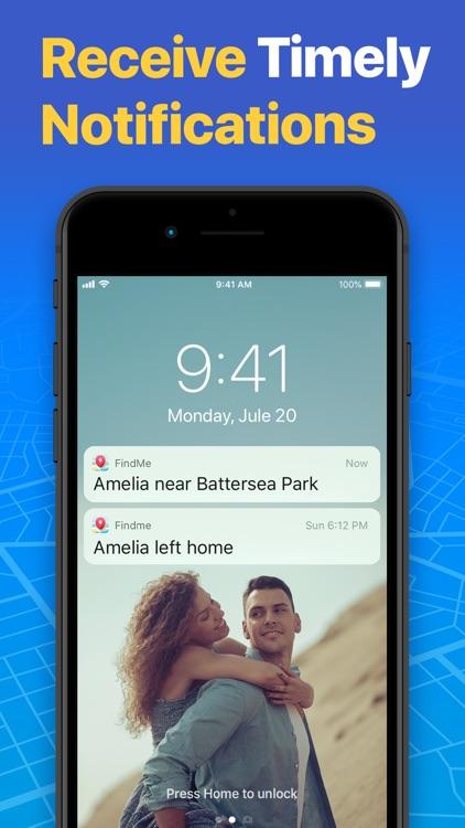 FindMe: Find My Friends, Phone screenshot-3