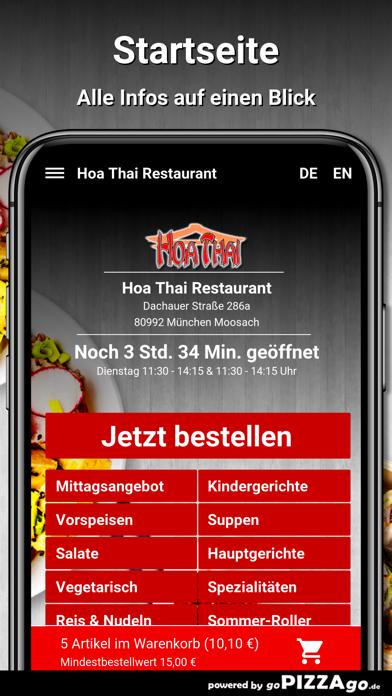 Hoa Thai Restaurant München screenshot 2