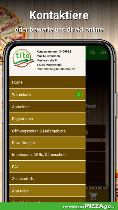 Pizzeria Tito Leipzig screenshot 3