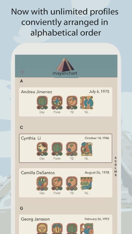 MayanChart - Mayan astrology