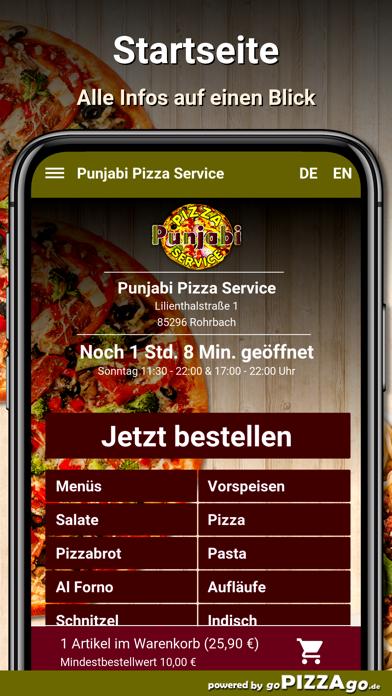 Punjabi Pizza Service Rohrbach screenshot 2