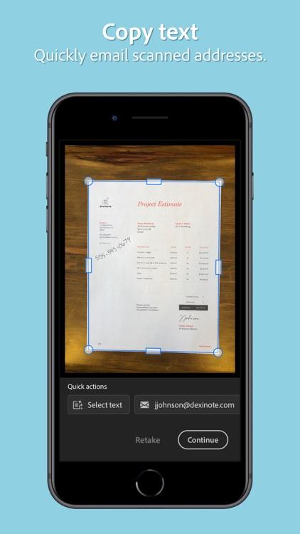 Adobe Scan: Mobile PDF Scanner screenshot-3
