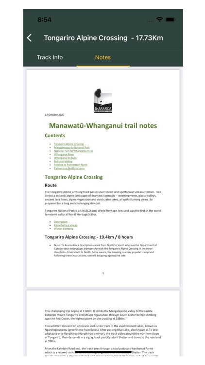 Te Araroa - The Trail App screenshot-4