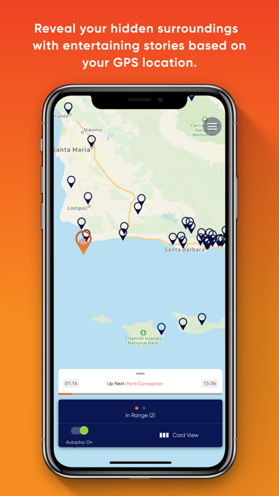 HearHere - Road Trip Companion Screenshot