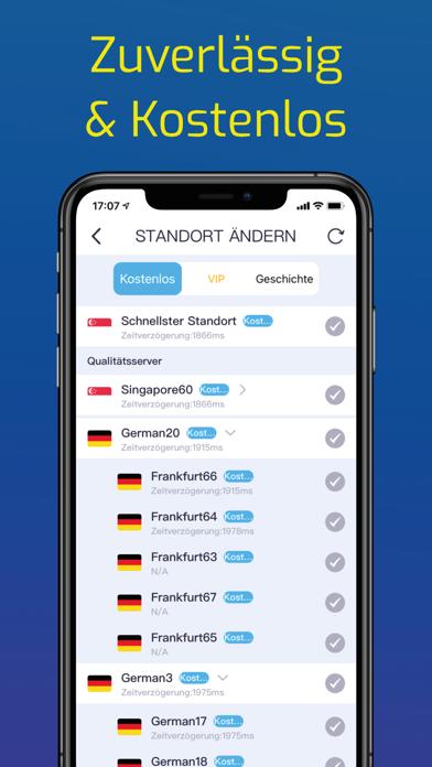 VPN Super Sicher UnbegrenztScreenshot von 3