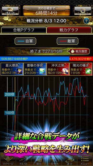 戦国炎舞 -KIZNA- 【人気の本格戦国RPG】 ScreenShot5