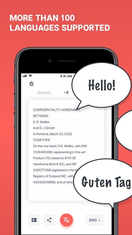 Scan & Translate+ Text grabber screenshot-3