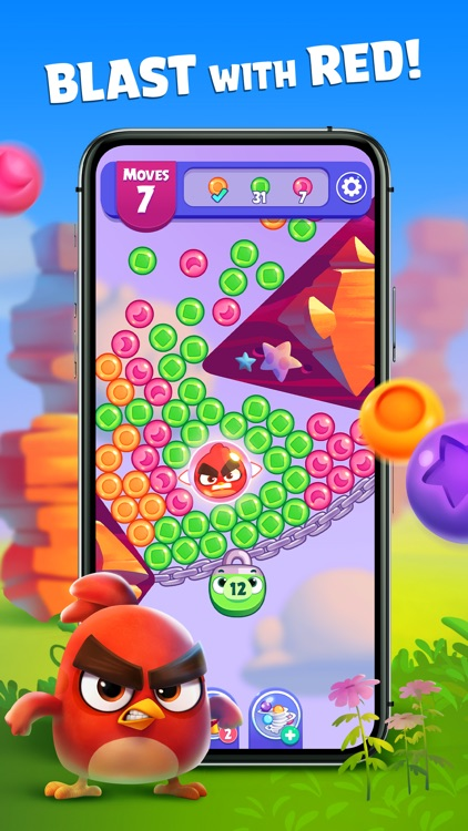 Angry Birds Dream Blast Toon screenshot-0