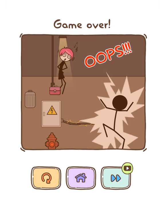 iPad Image of Thief Puzzle: to pass a level