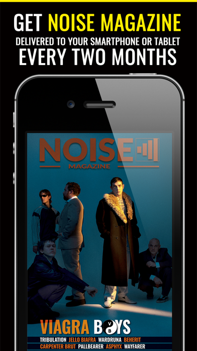 Noise MagazineScreenshot of 1