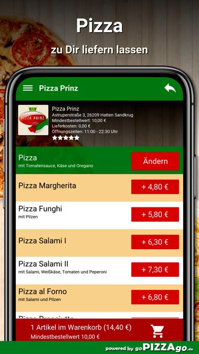 Pizza Prinz Hatten Sandkrug screenshot 5