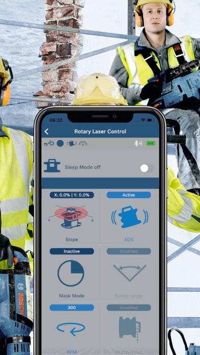 Bosch Levelling Remote AppScreenshot von 2