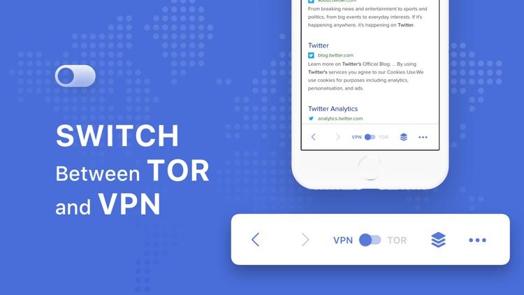 TOR Browser Private + VPN screenshot-4