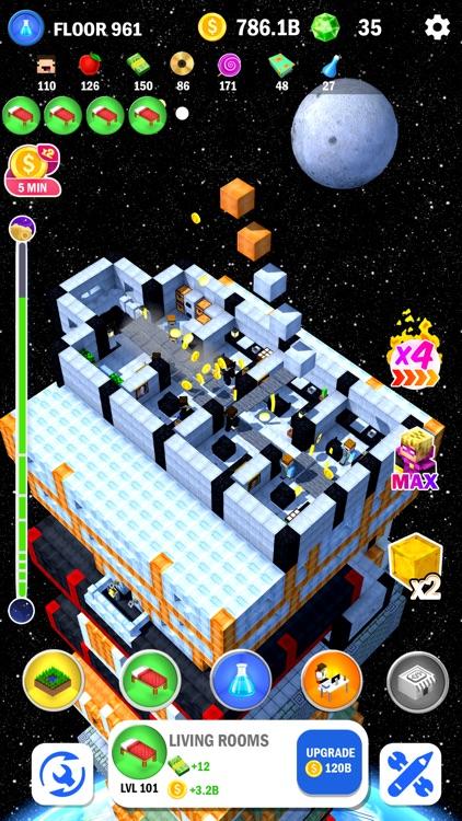 Tower Craft 3D - Idle Building screenshot-9