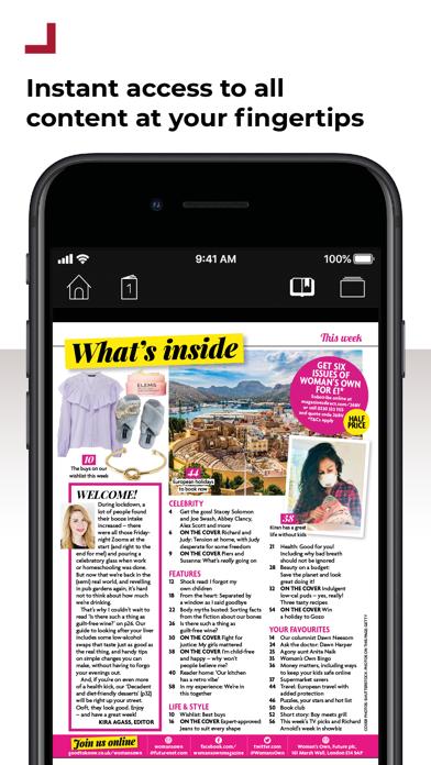 Woman's Own MagazineScreenshot of 2