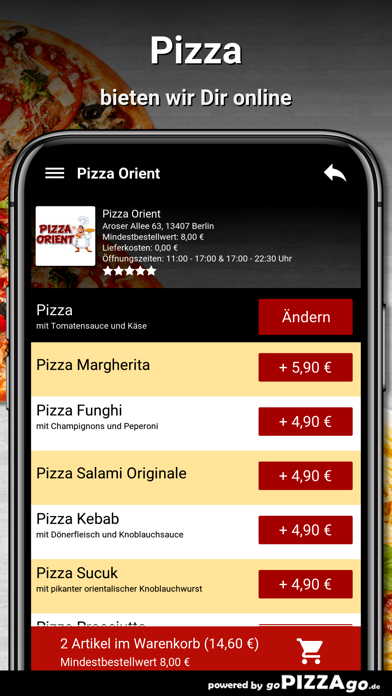 Pizza Orient Berlin screenshot 5