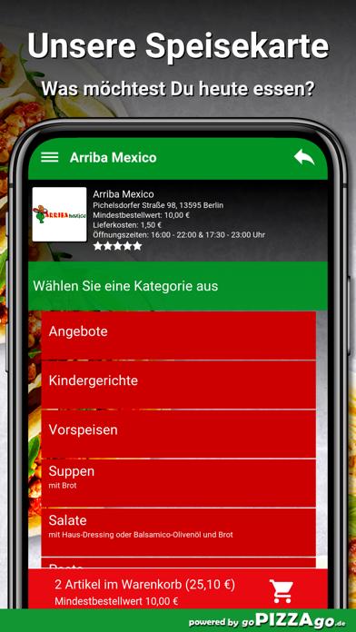 Arriba Mexico Berlin screenshot 4