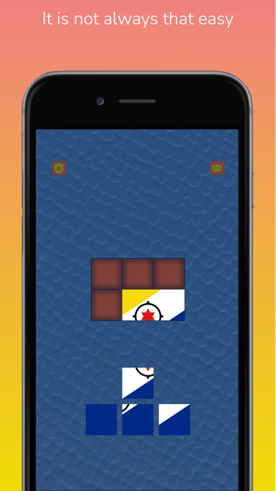 Country Flags: Tiling Puzzles screenshot 2