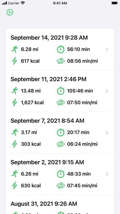 Runr - Running App screenshot 1