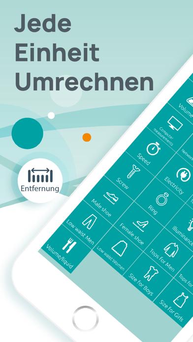 Einheitenrechner - UmrechnerScreenshot von 1