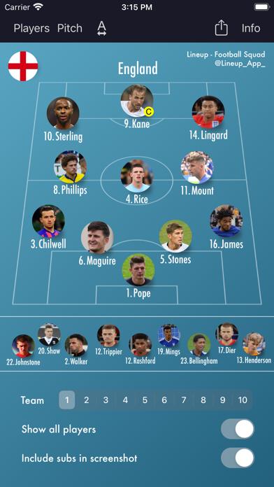 Lineup - Football Squadのおすすめ画像5