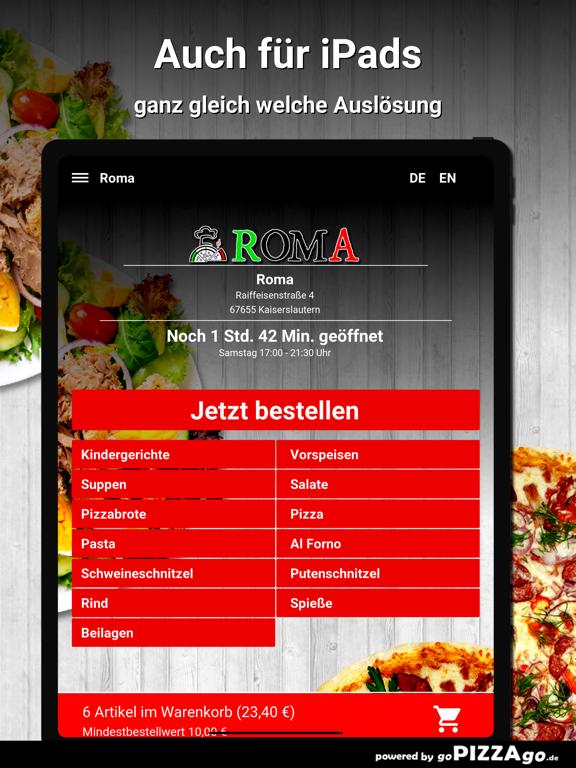 Roma Kaiserslautern screenshot 7